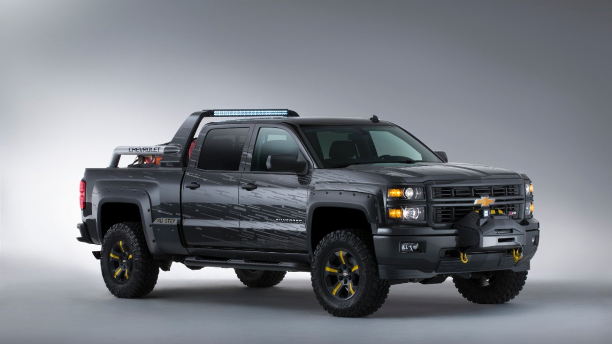 Chevy Silverado Black Ops Concept Is The Perfect Vehicle For