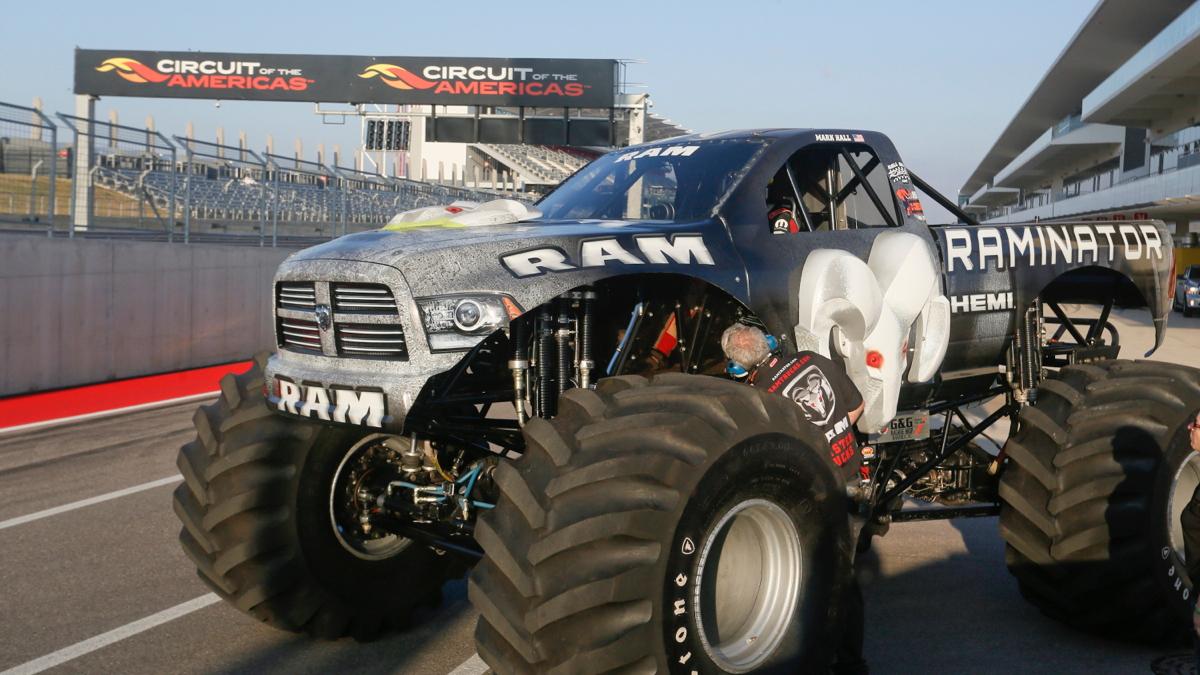 Raminator breaks Guinness World Record for fastest monster truck
