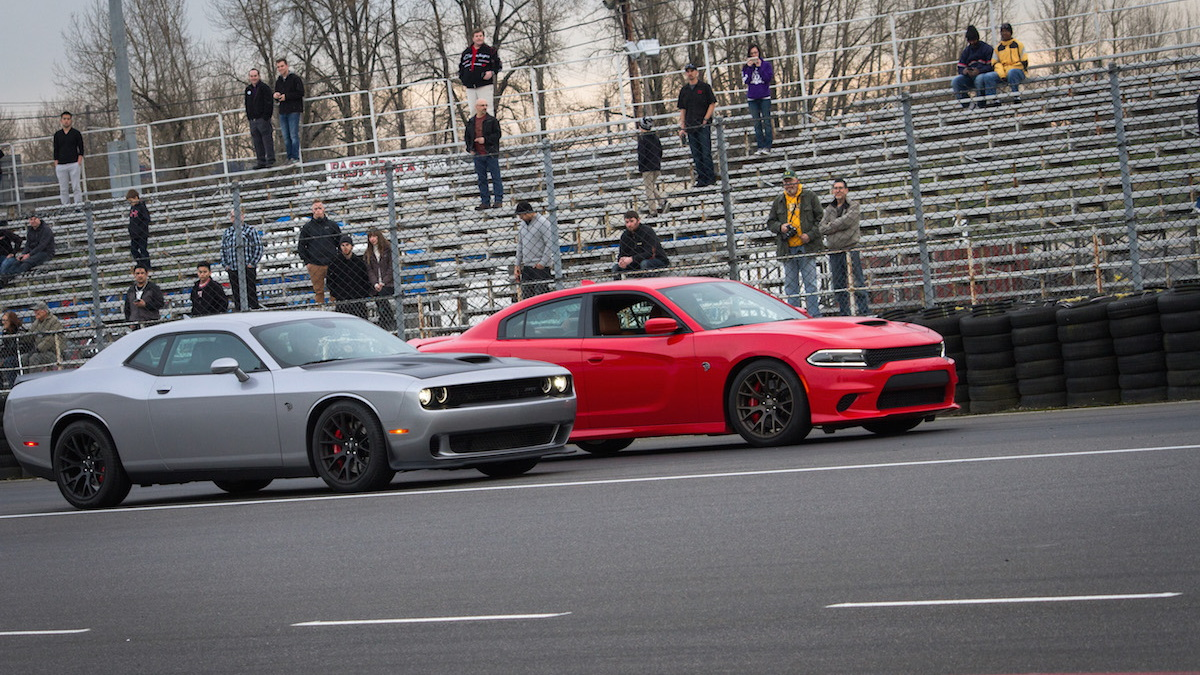 Hellcat Vs. Hellcat, Photo By Chris Mitchell Photography