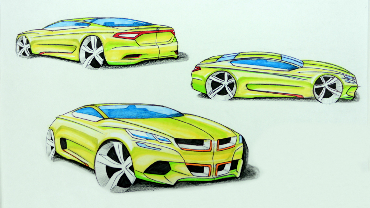 2015 FCA design contest. Third place sketch by Hwanseong Jang.