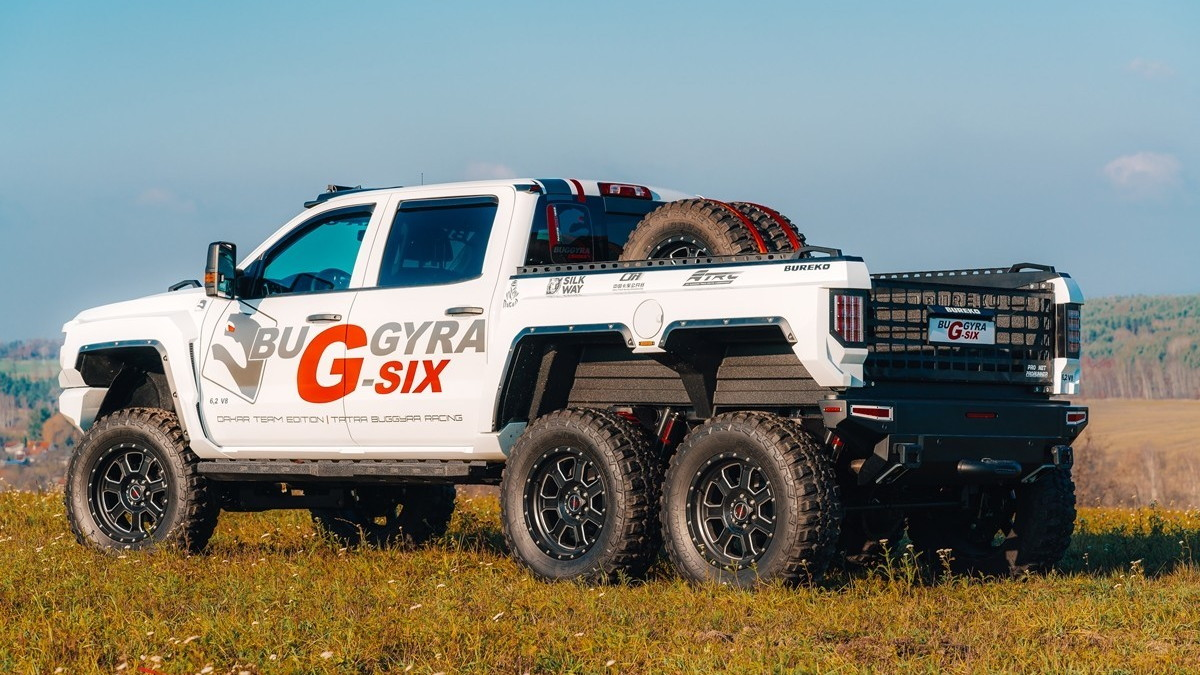Bureko 6x6 Chevrolet Silverado