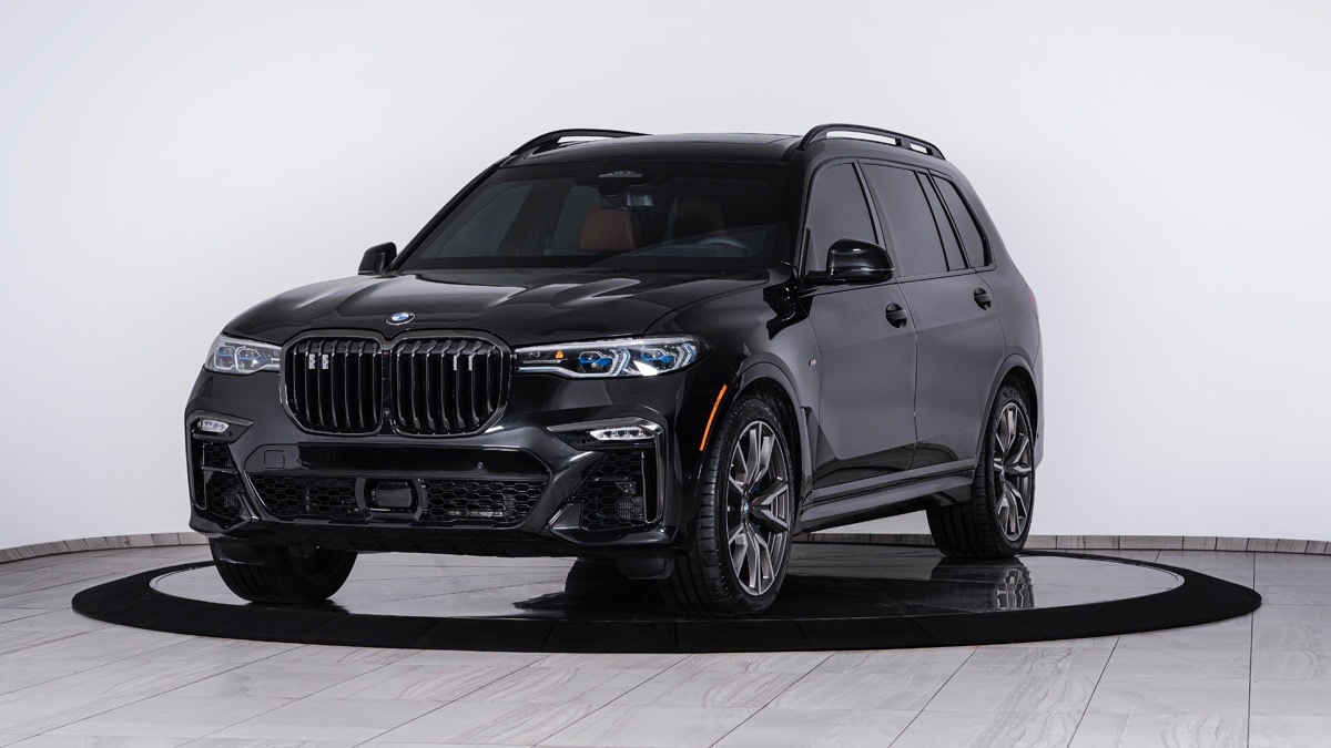 Inkas armored BMW X7