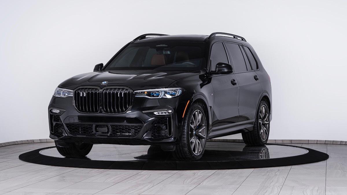 Inkas armored BMW X7