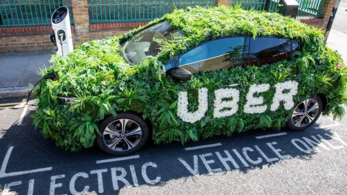 Uber electric car