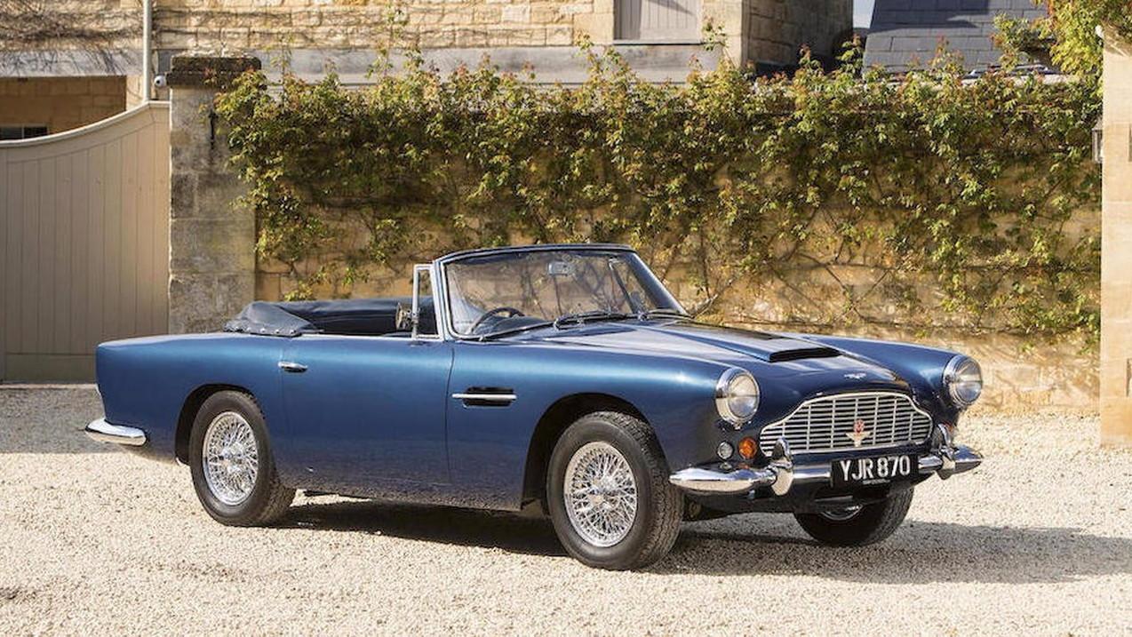 1963 Aston Martin DB4 Series V Vantage Convertible