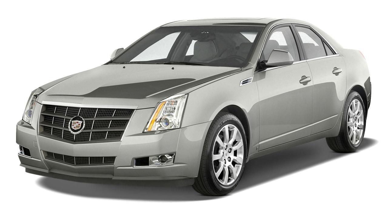 2010 Cadillac CTS 4-door Sedan 3.0L RWD Angular Front Exterior View