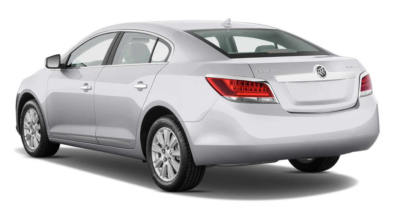 2010 Buick LaCrosse 4-door Sedan CX 3.0L Angular Rear Exterior View