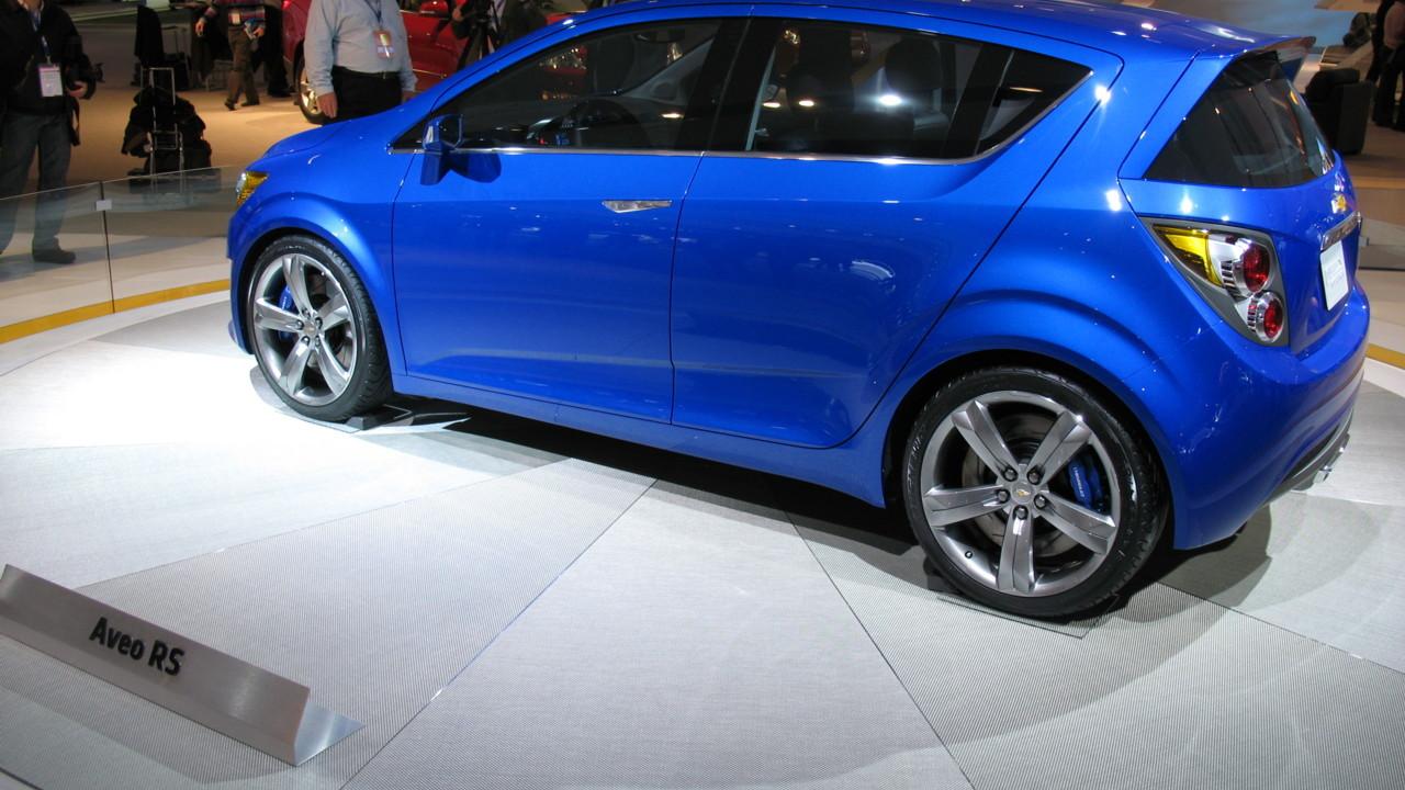 2010 Chevrolet Aveo RS concept