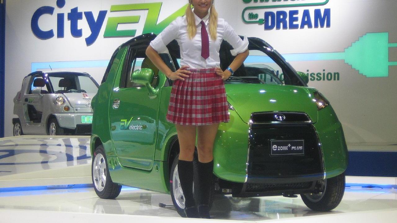 EV Electric eZone Plus, Electric Avenue, 2010 Detroit Auto Show