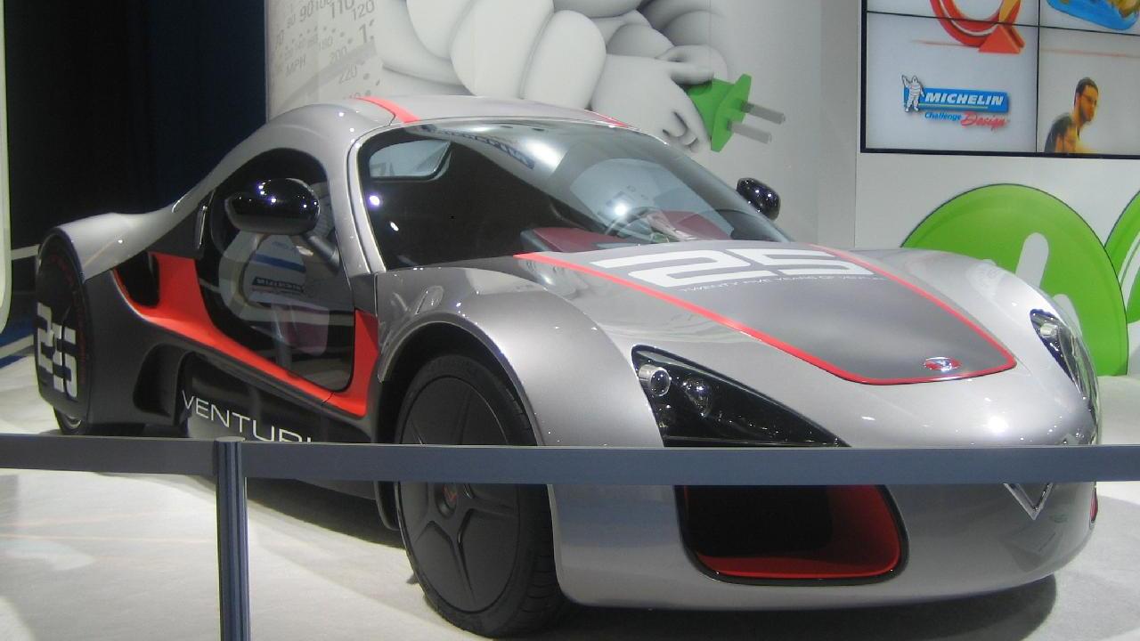 Venturi Volage, Electric Avenue, 2010 Detroit Auto Show