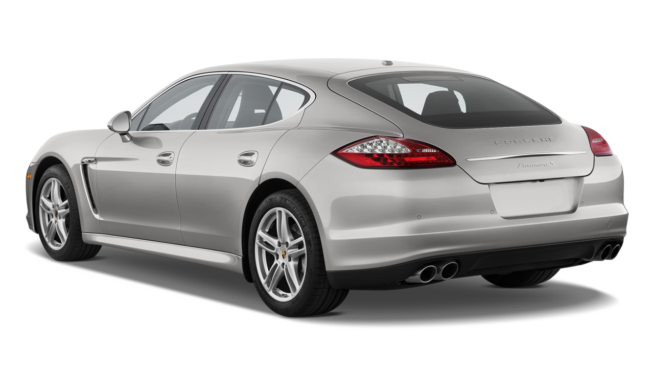 2010 Porsche Panamera 4-door HB 4S Angular Rear Exterior View