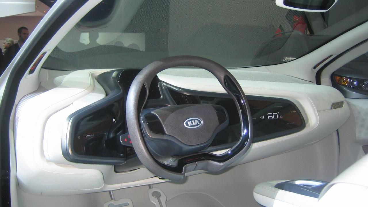 Kia Ray plug-in hybrid concept car, 2010 Chicago Auto Show