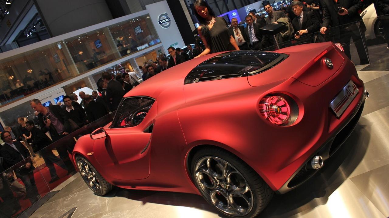 Maserati To Build Alfa Romeo 4C Sports Car At Modena Plant