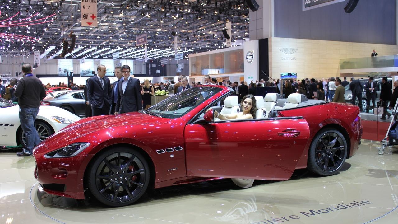 2012 Maserati GranTurismo Convertible Sport live photos