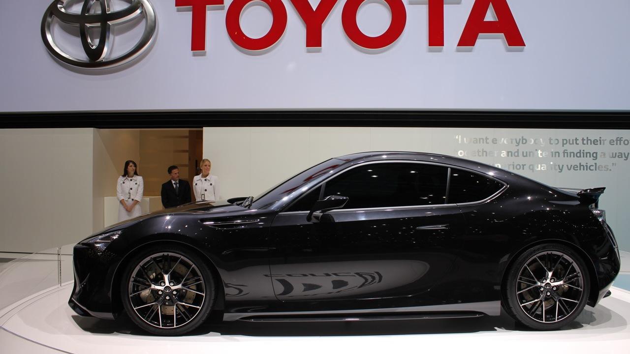 2011 Toyota FT-86 II Concept