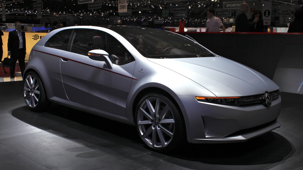 2011 Volkswagen Italdesign Giugiaro Tex Concept live photos