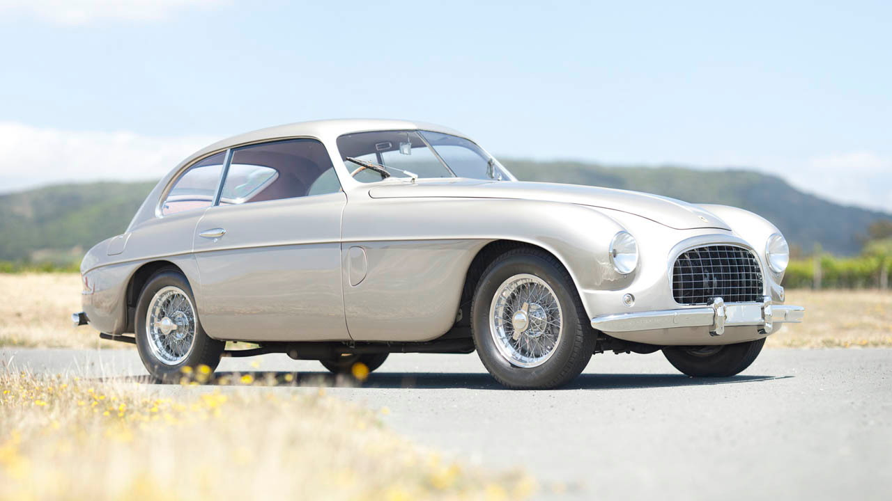 1950 Ferrari 195 Inter Coupe. Photo via Gooding & Co.