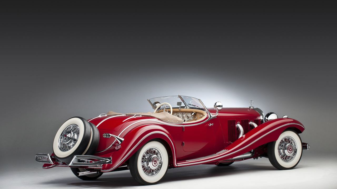 1937 Mercedes-Benz 500 K Roadster