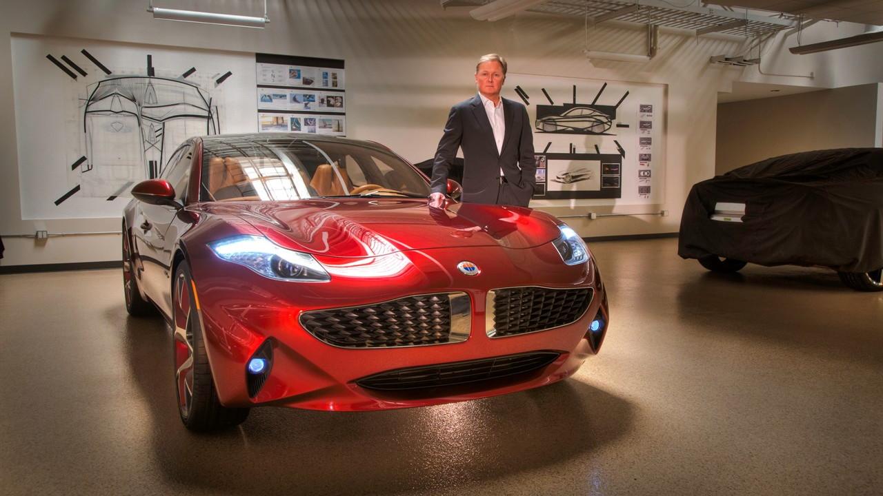 Fisker Atlantic Design Prototype  -  2012 New York Auto Show