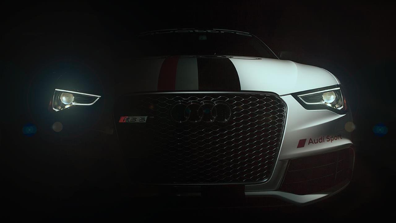 Audi RS5 teaser for 2012 Pikes Peak International Hill Climb