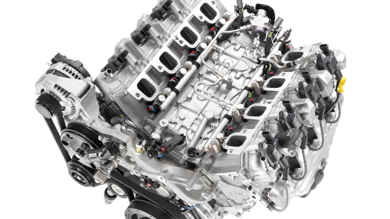2014 Chevrolet Corvette LT-1 V-8 engine