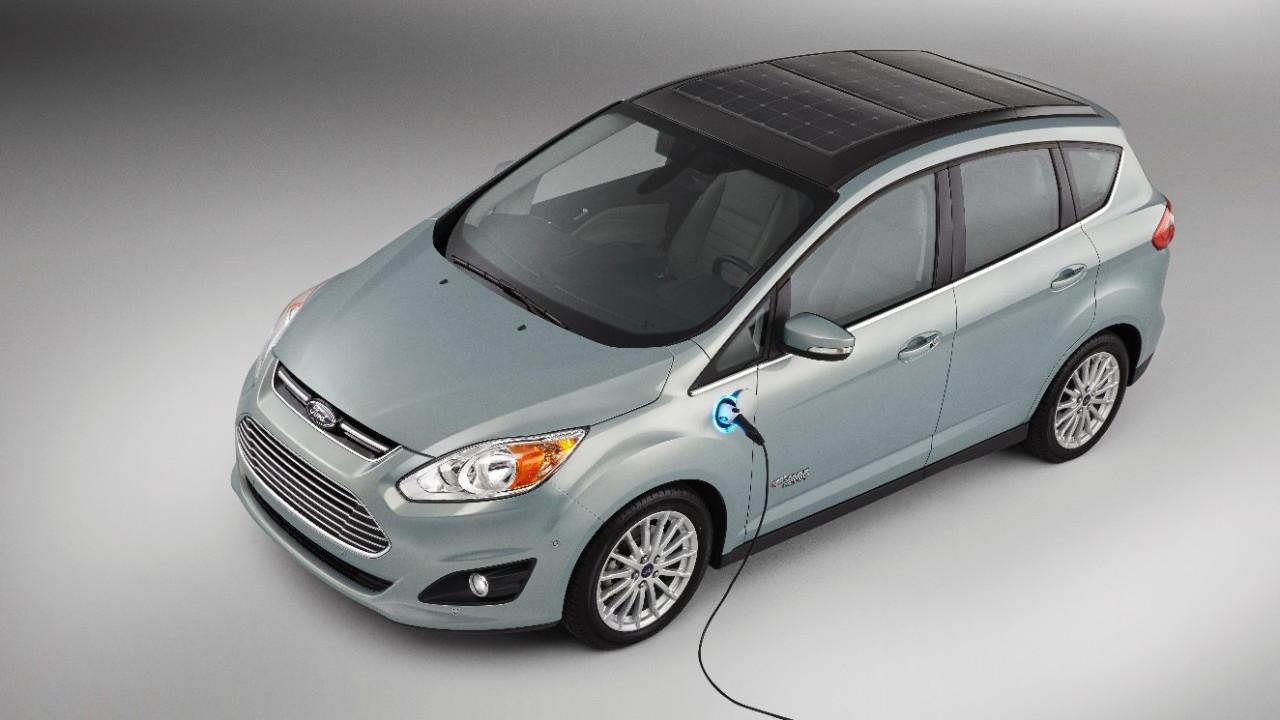 Ford C-Max Solar Energi Concept at CES 2014