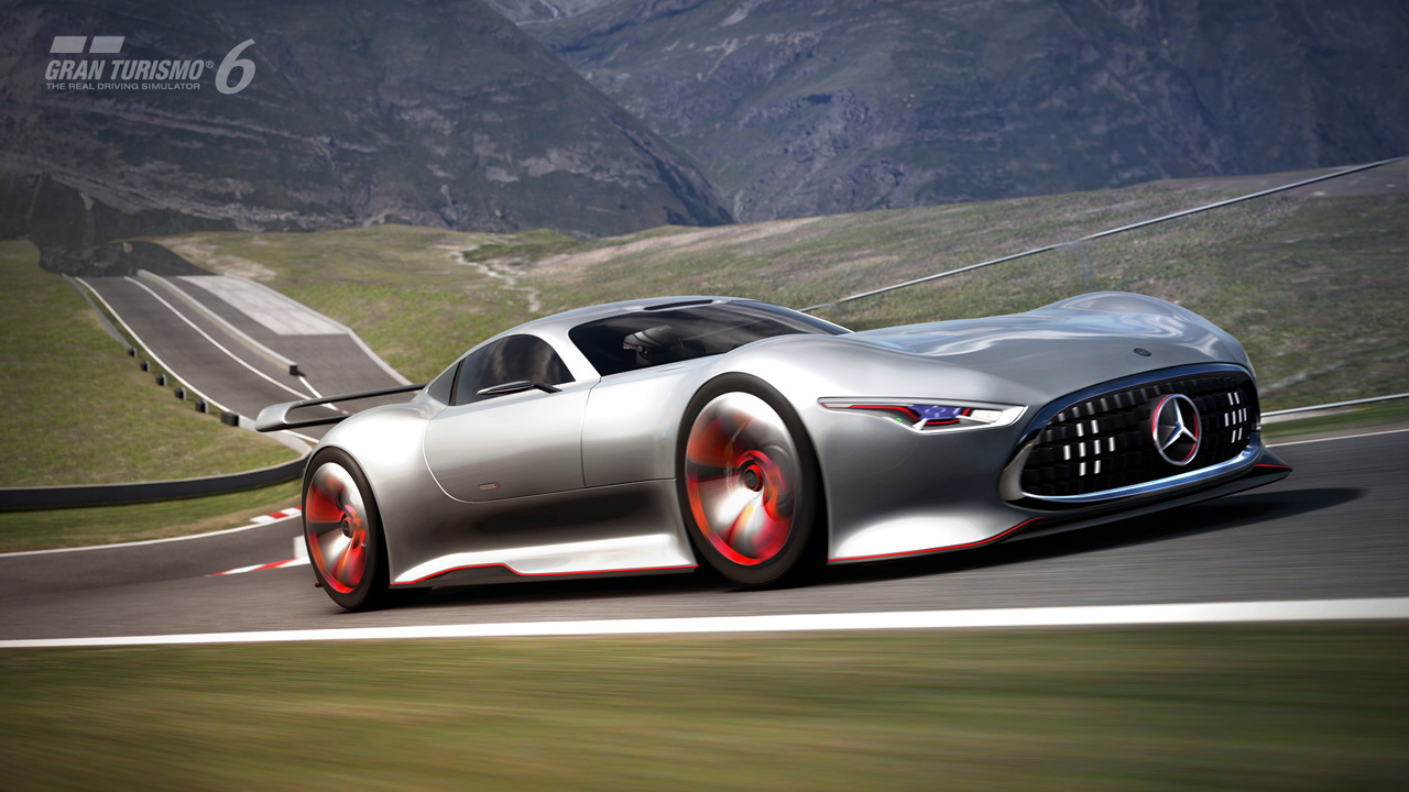 Mercedes-Benz AMG Vision Gran Turismo Racing Series