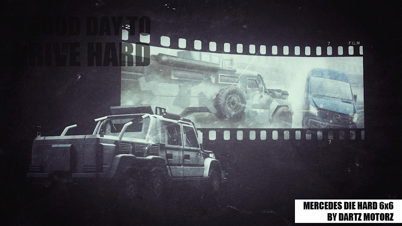 Dartz Drive Hard Mercedes-Benz 6x6 G63 AMG