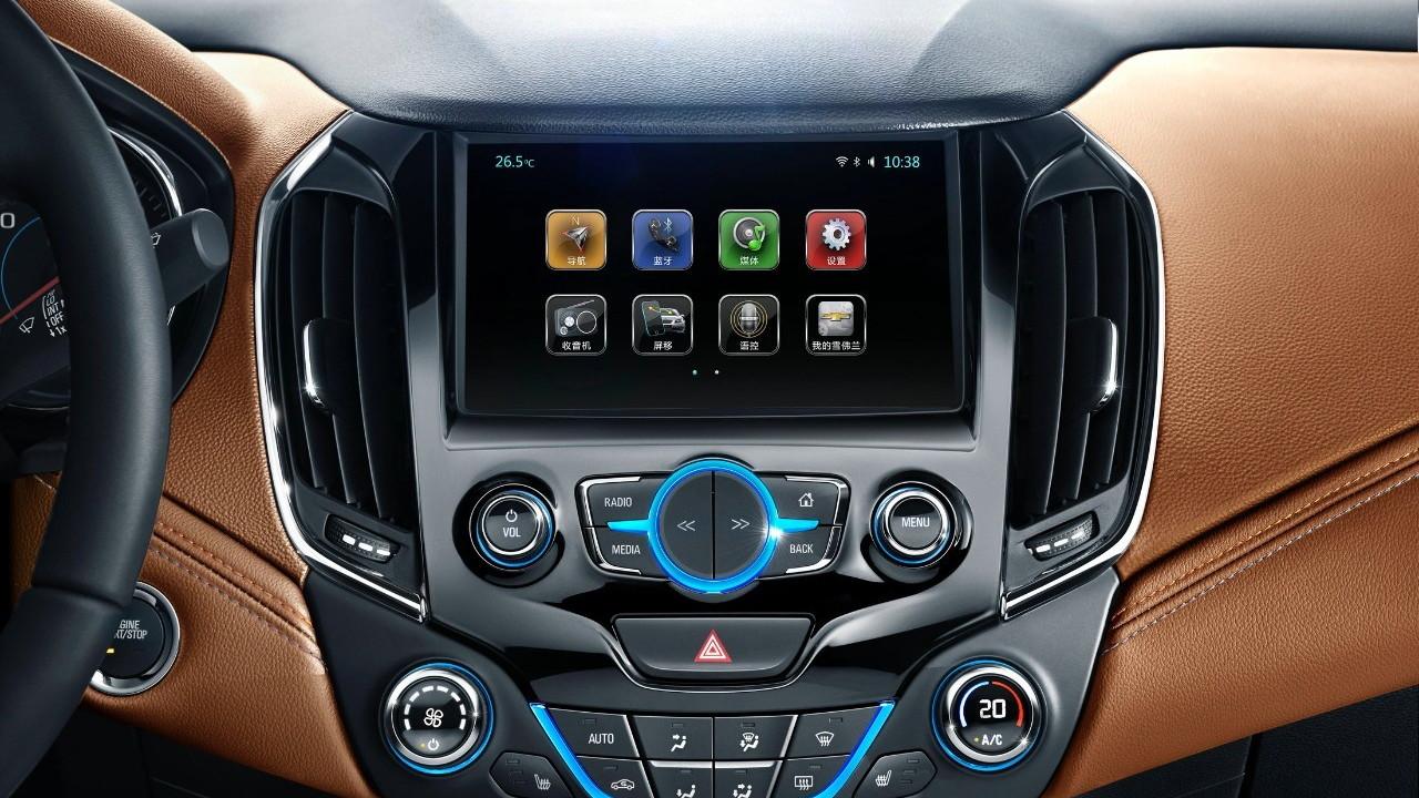 2016 Chevrolet Cruze interior (Chinese spec)