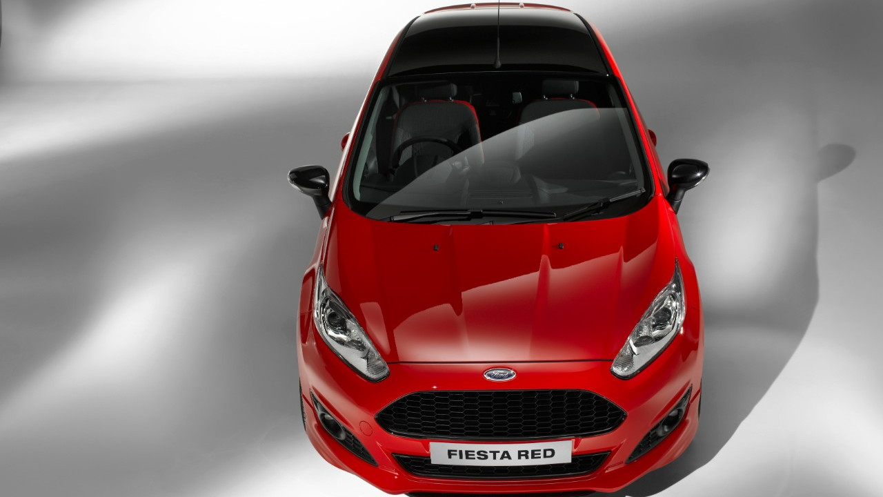 Ford Fiesta Red and Black 1.0 Ecoboost
