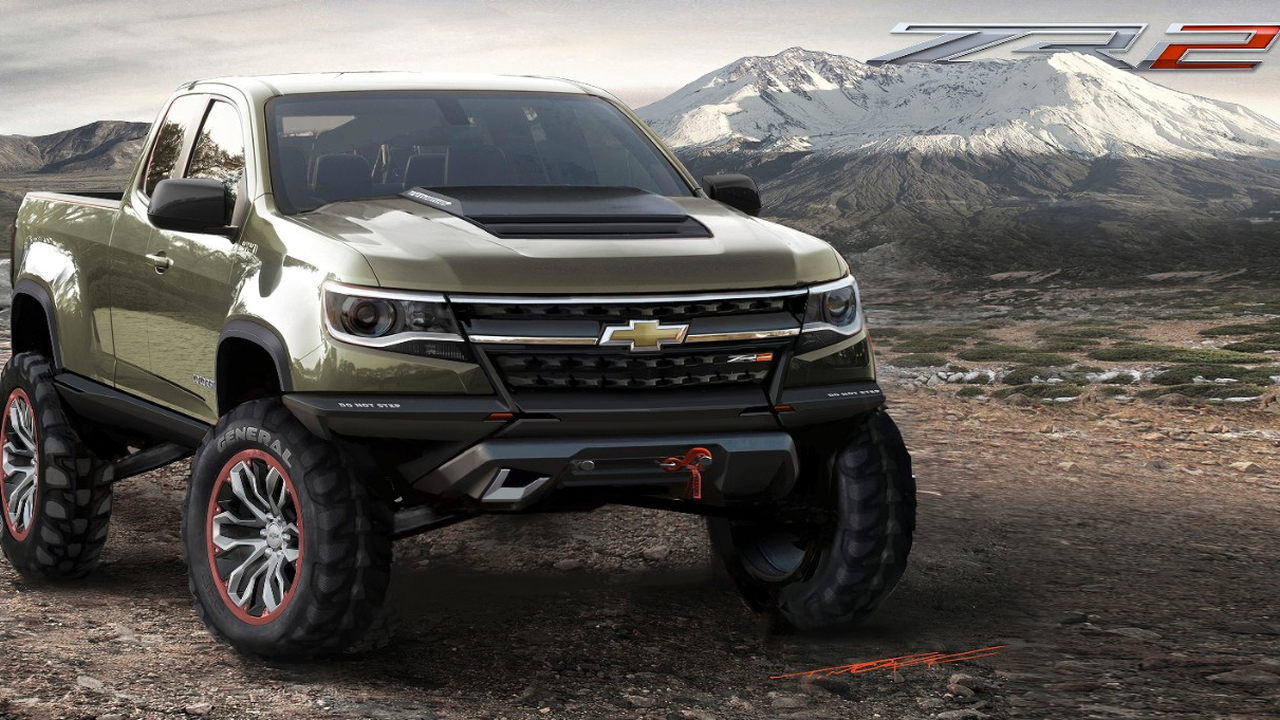 2017 Chevrolet Colorado Zr2 Concept Los Angeles Auto Show