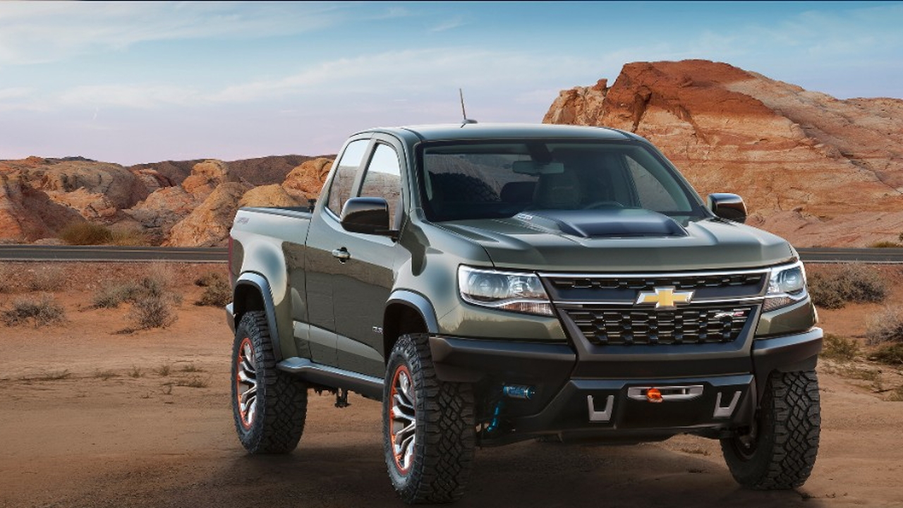 2015 Chevrolet Colorado ZR2 concept, 2014 Los Angeles Auto Show