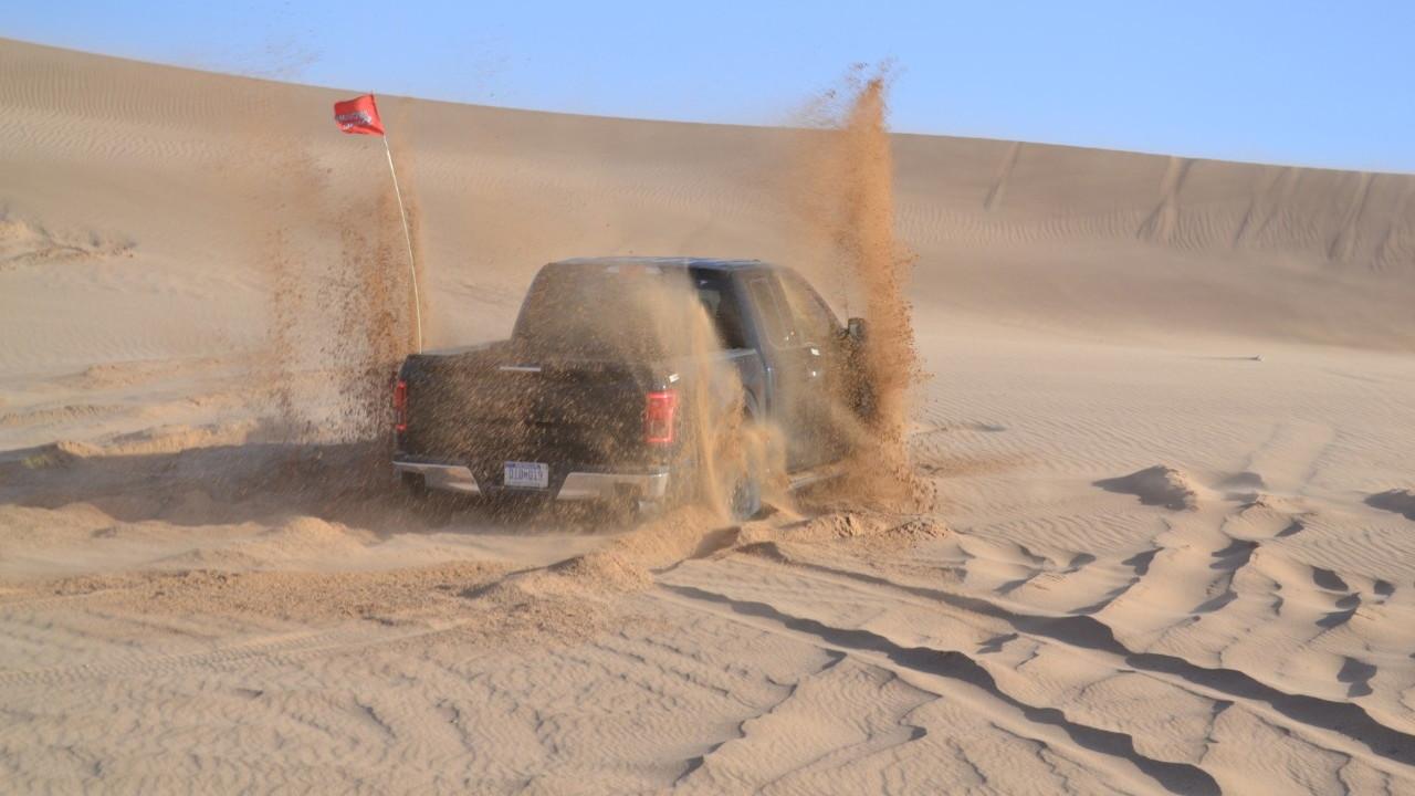 2017 Ford F-150 Raptor desert durability testing