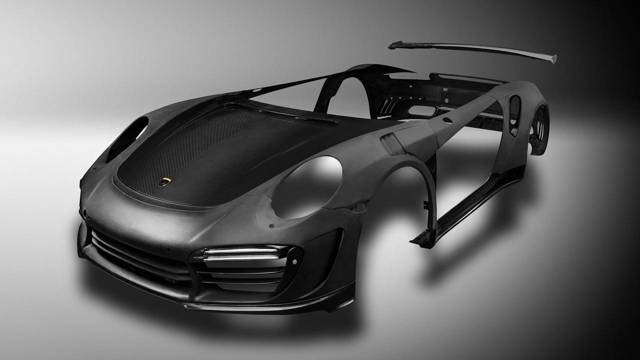 TopCar creates carbon fiber body panels for the 991 Porsche 911