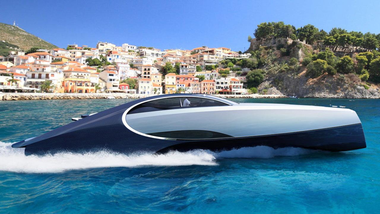 Palmer Johnson Niniette 66 inspired by Bugatti Chiron