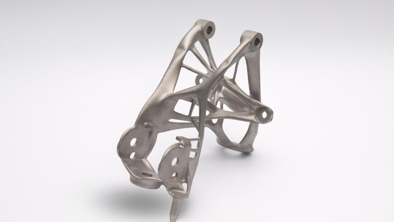 GM 3D-printed seat bracket concept part