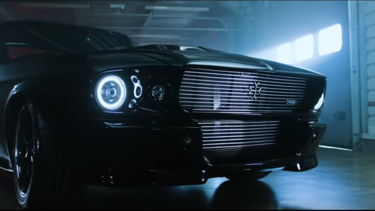 Charge Ford Mustang with electric powertrain conversion