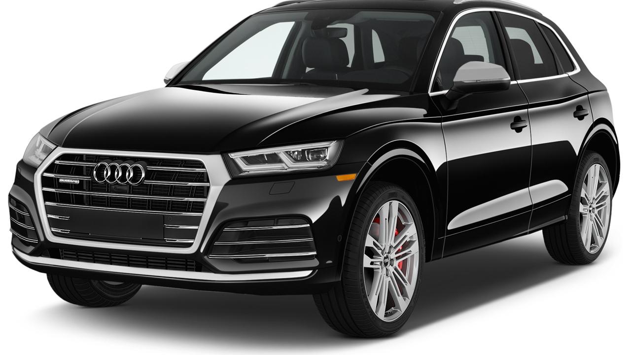 2019 Audi SQ5 3.0 TFSI Premium Plus Angular Front Exterior View
