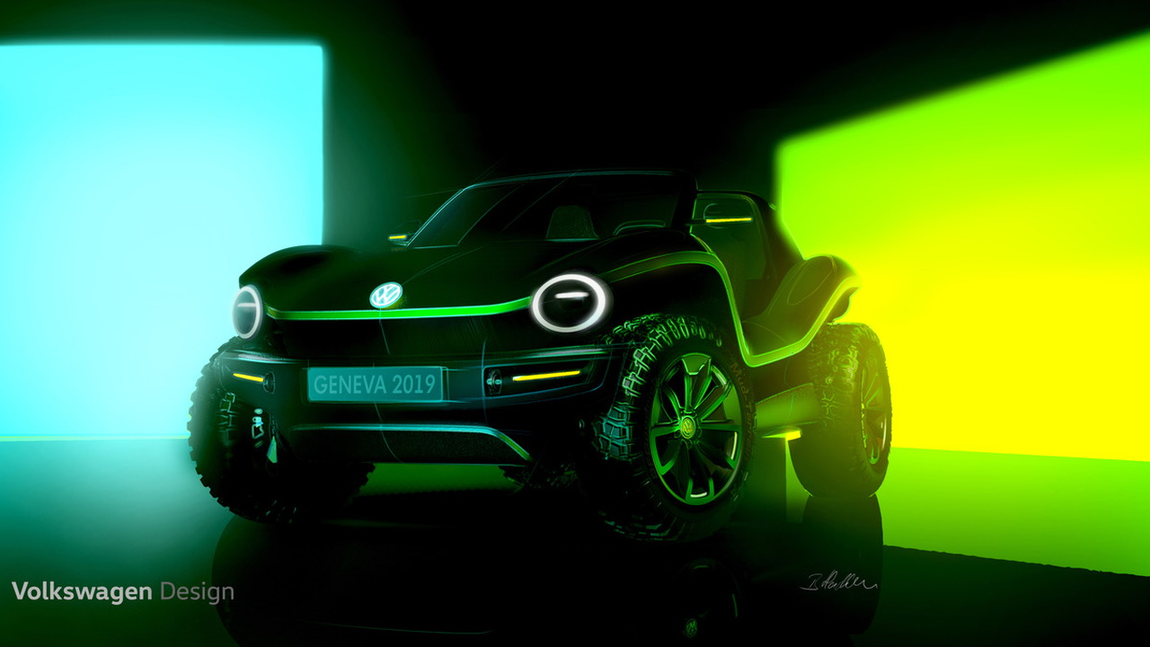 Volkswagen Geneva Show Electric Buggy concept