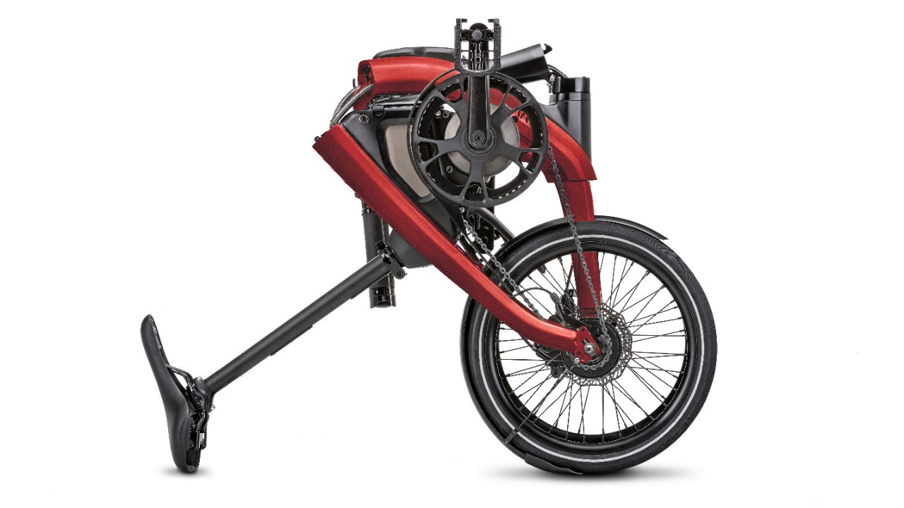GM ARĪV Merge foldable e-bike