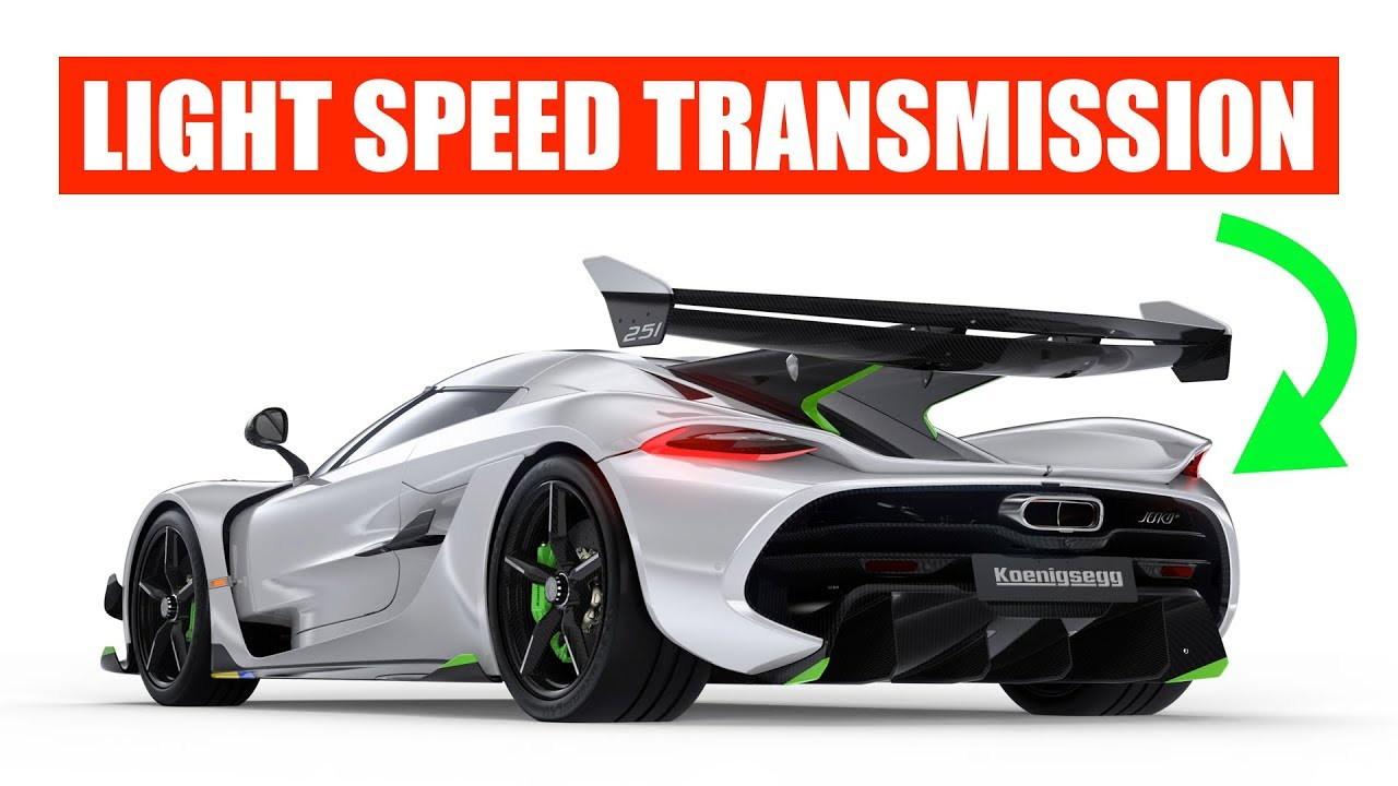 Koenigsegg Jesko Light Speed Transmission on Engineering Explained