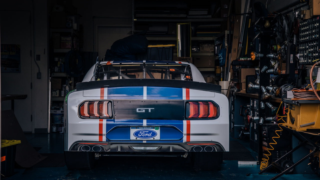 2020 Ford Xfinity Mustang