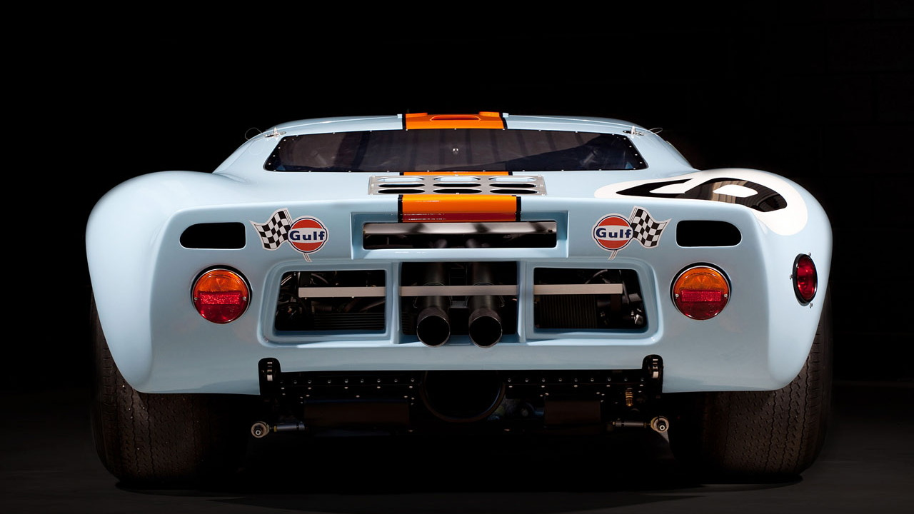 Superformance Gulf Ford GT40 P/1075