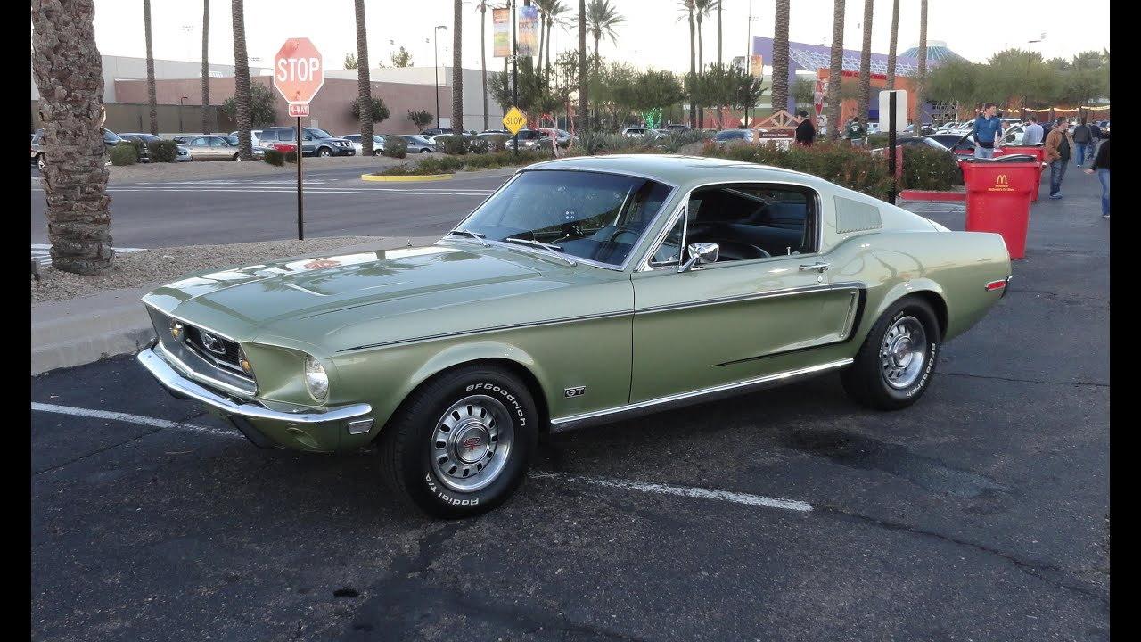 """1968 Ford Mustang GT390 Fastback """"Bullitt"""""""