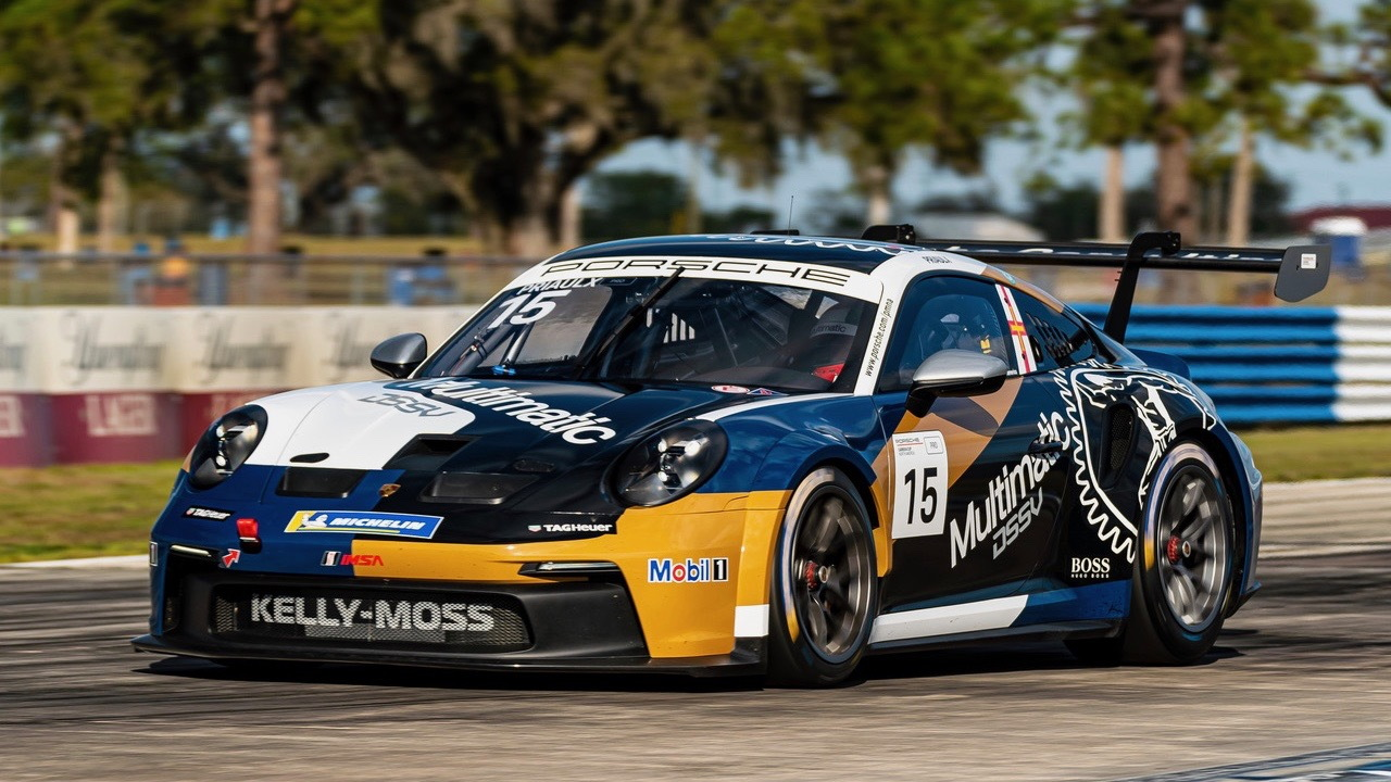 Porsche 911 GT3 Cup Multimatic