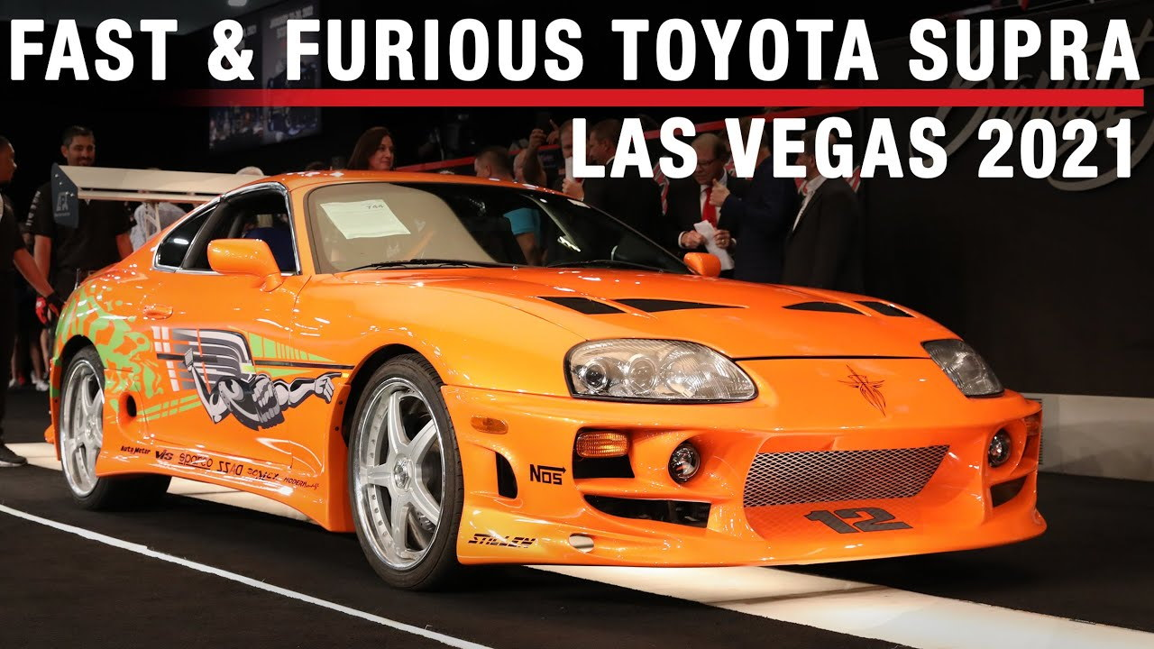 """1994 Toyota Supra driven by Paul Walker in """"The Fast and the Furious"""""""