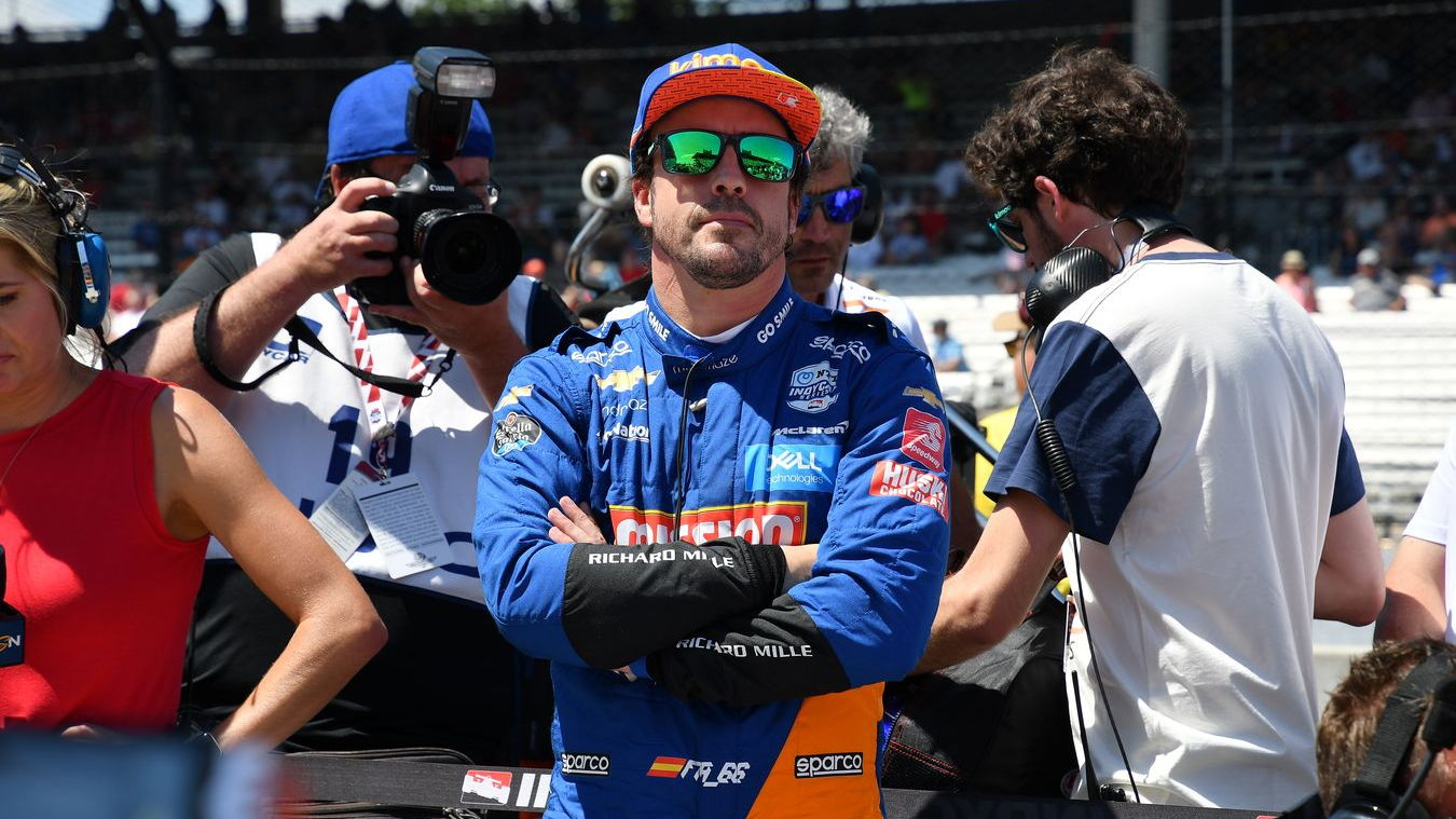 Fernando Alonso, 2019 Indy 500 qualifying