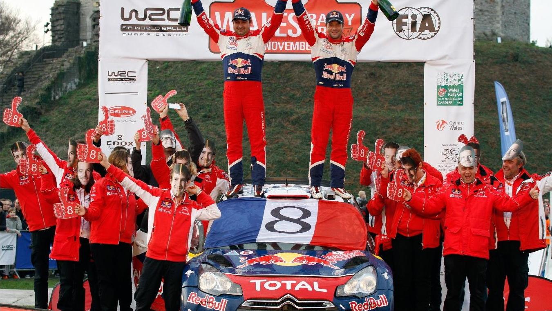 Sebastian Loeb, 2011 Wales Rally GB
