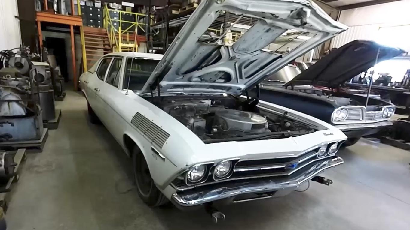 Steam powered 1969 Chevrolet Chevelle