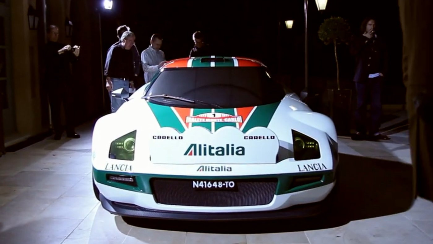 New Stratos in classic Alitalia livery